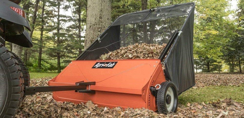 Agri-Fab 45-0521 42-inch Tow Lawn Sweepr, Orange and Black (1)
