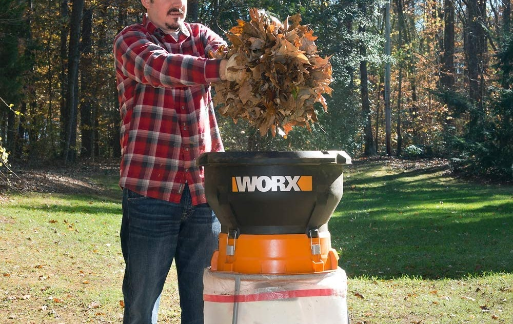 Worx WG430 13-Amp Electric Leaf Mulcher