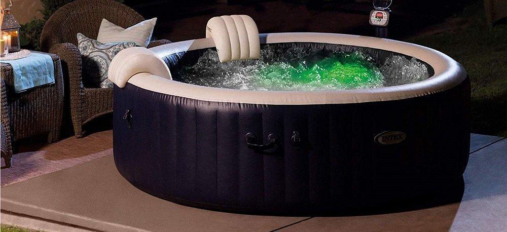 Intex Pure Spa 6-Person Inflatable Portable Heated Bubble Hot Tub 28409E (2)