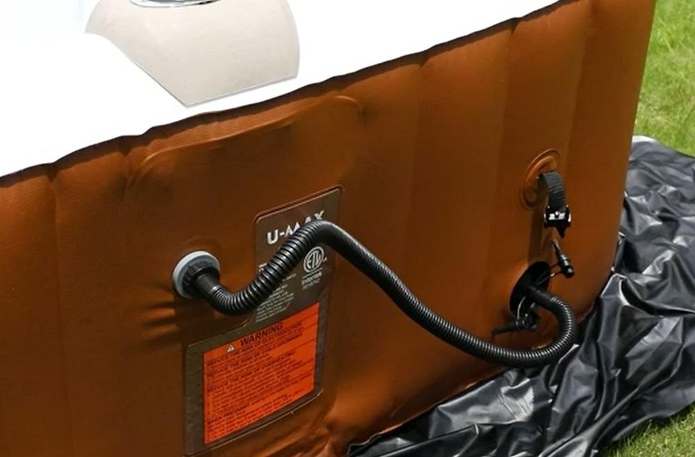 U-MAX Inflatable Hot Tub