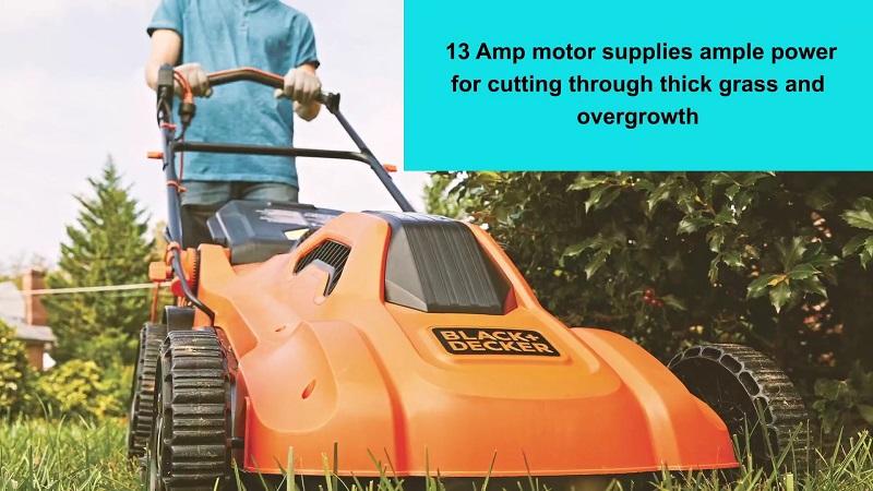 Black+Decker Lawn Mower Corded EMW213 Review