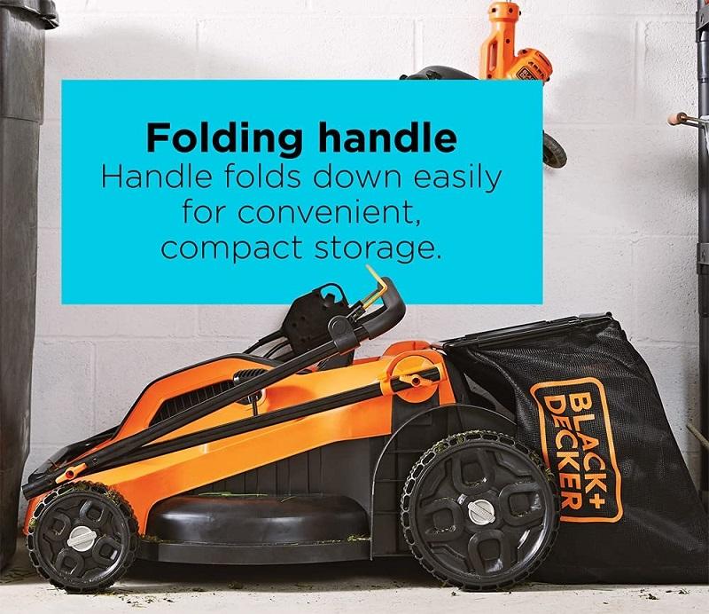 Black+Decker Lawn Mower Corded